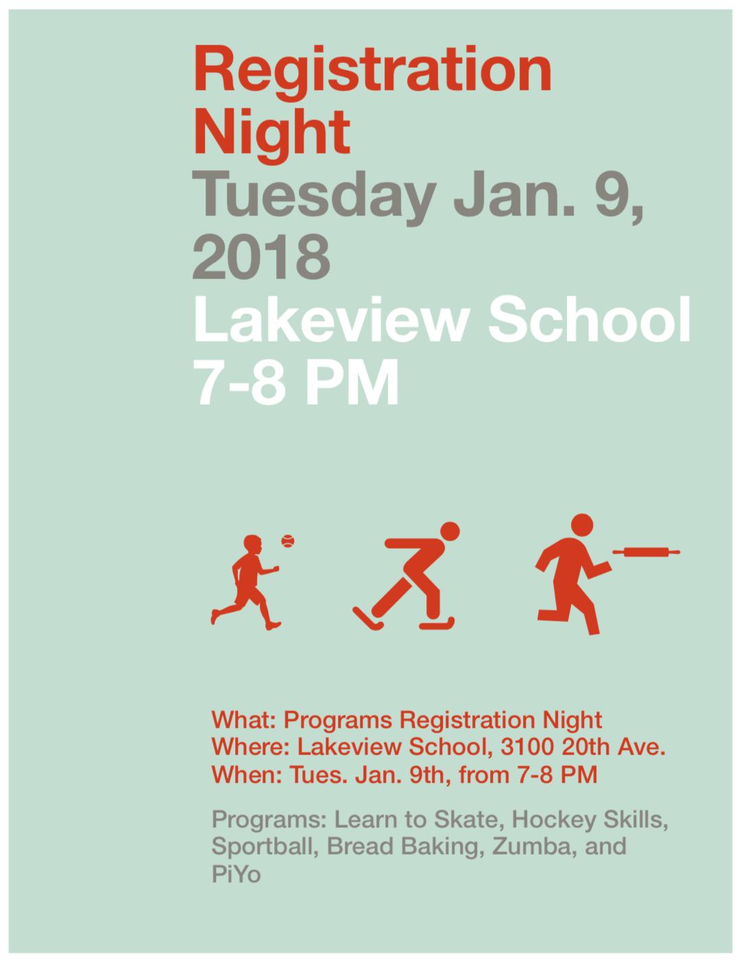 Registration night Jan 2018 poster